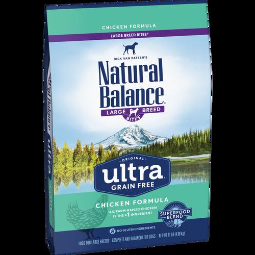 Natural Balance Ultra Grain Free Large Breed Chicken, 24lb