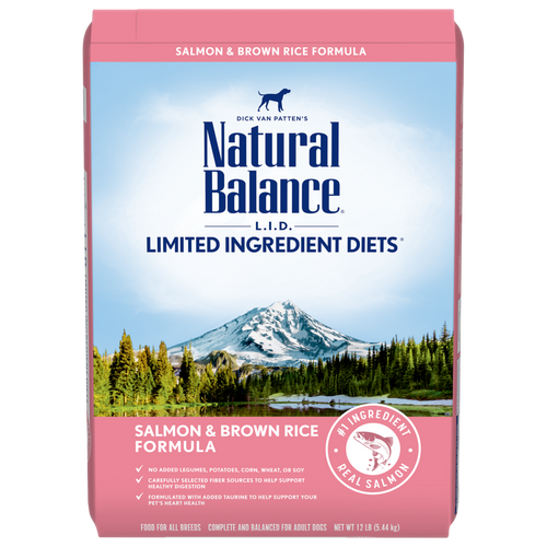 Natural Balance Salmon & Brown Rice Formula, 26lb