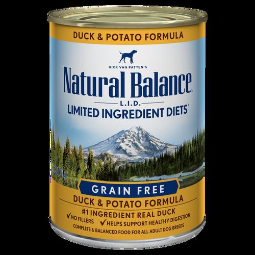 Natural Balance Duck & Potato, 13oz