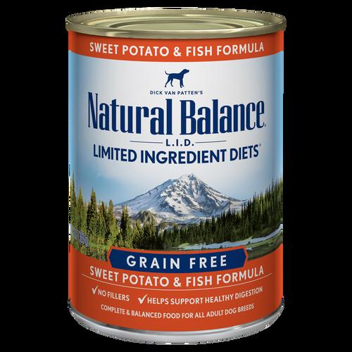 Natural Balance Sweet Potato & Fish, 13oz