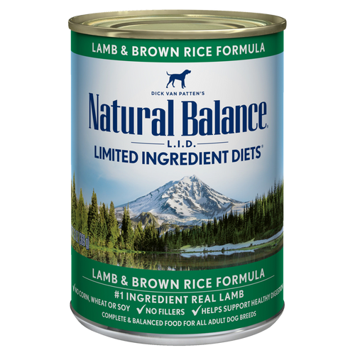 Natural Balance Lamb & Brown Rice, 13oz
