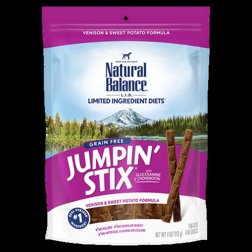 Natural Balance Jumpin' Stix Venison, 4oz