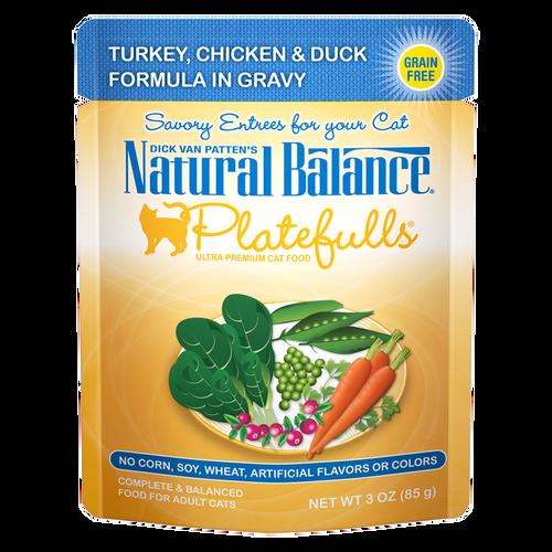 Natural Balance Platefuls Turkey, Chicken & Duck, 3oz