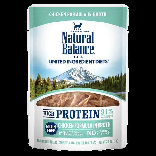 Natural Balance L.I.D. Hi Protein Chicken Pouch, 2.5oz