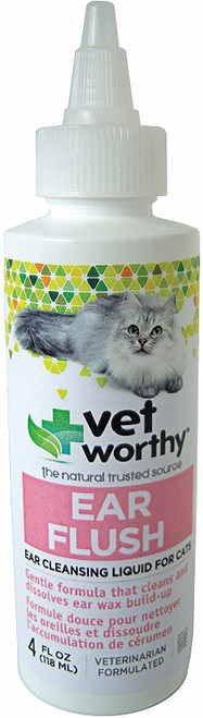 Vet Worthy Feline Ear Flush, 4oz