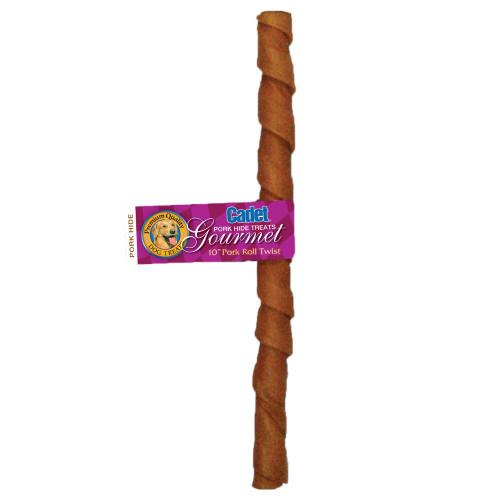 Cadet Pork Hide Roll, 10 inch