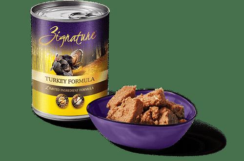 Zignature Turkey Wet Dog Food, 13oz