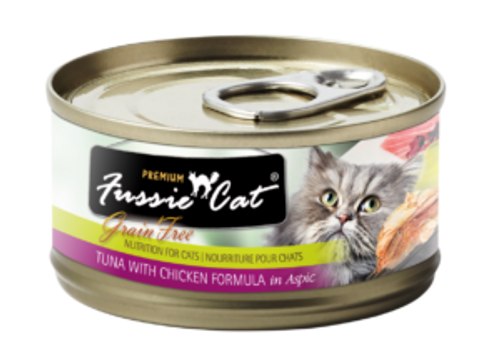 Fussie Cat Tuna & Chicken, 2.8oz