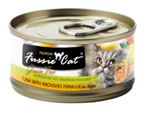 Fussie Cat Tuna & Anchovy, 2.8oz