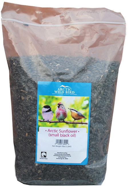 Arctic Wild Bird Small Black Oil Sunflower Seed