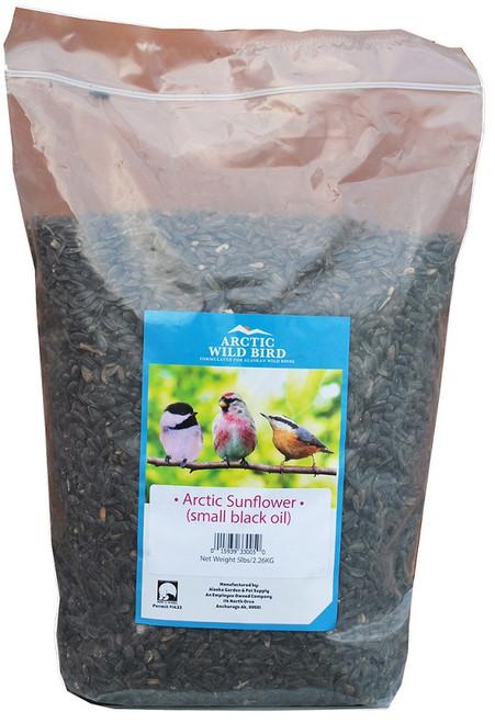 Arctic Wild Bird Small Black Oil Sunflower Seed