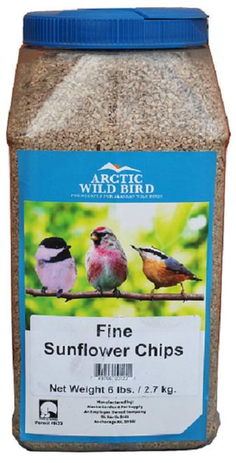 Arctic Wild Bird Fine Sunflower Chip 6lb