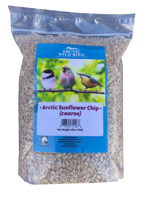 Arctic Wild Bird Coarse Sunflower Chip