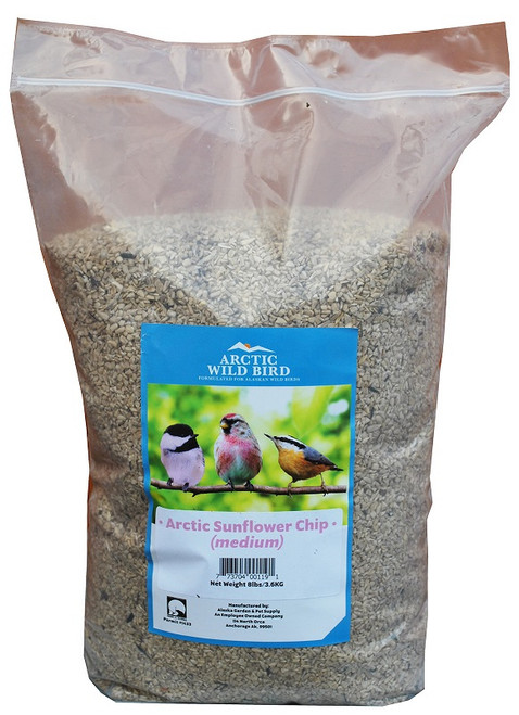 Arctic Wild Bird Medium Sunflower Chips