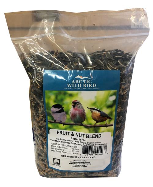 Arctic Wild Bird Fruit & Nut Blend 4lb