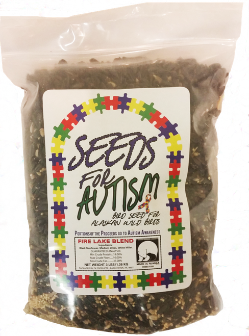 Arctic Wild Bird Seeds for Autism, 3lb