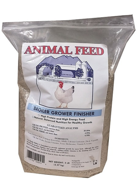 Broiler Grower Finisher Crumbles