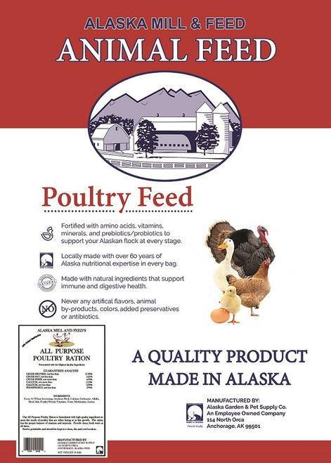 All Purpose Poultry Ration, 50lb
