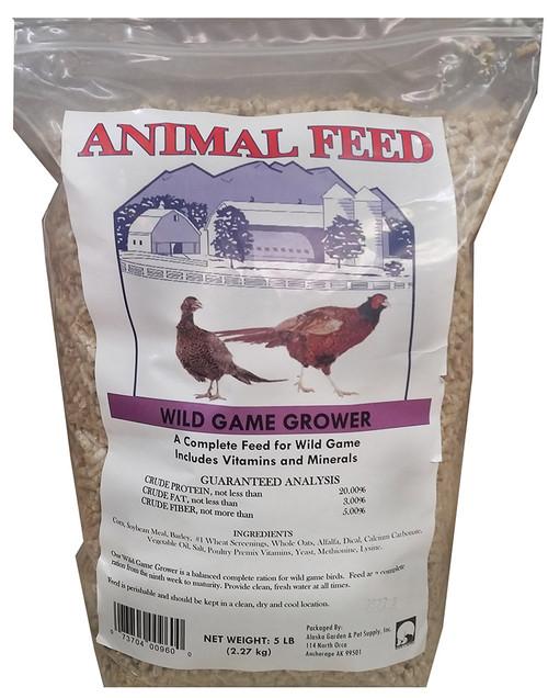 Wild Game Bird Grower