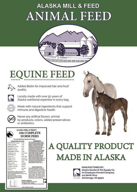 Complete Horse 16% Pellets, 50lb