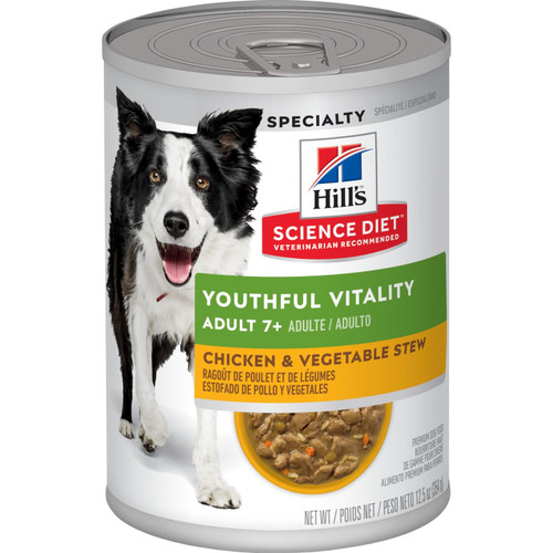 Science Diet Adult 7+ Youthful Vitality, 12.5oz