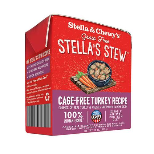 Stella & Chewy's Cage-Free Turkey Stew, 11oz