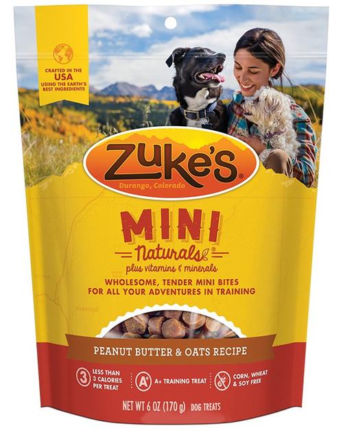 Zuke's Mini Naturals Peanut Butter Dog Treats
