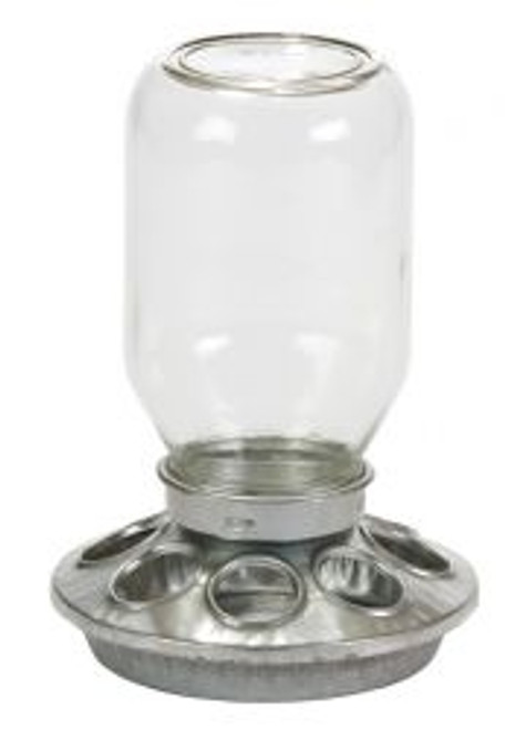 Miller Mason Jar Chick Feeder
