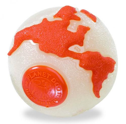 Planet Dog Orbee Tuff Planet Ball Orange