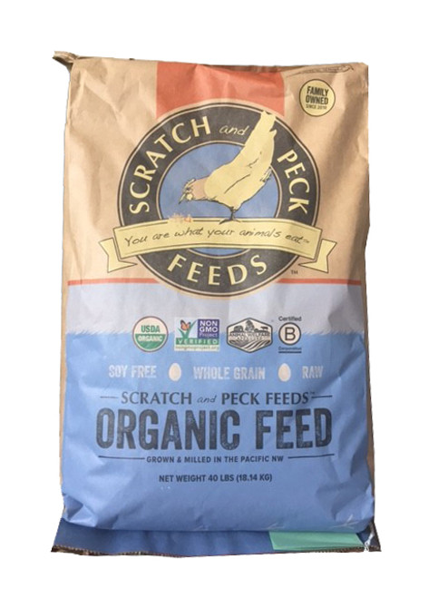 Scratch & Peck Naturally Free 16% layer, 40lb