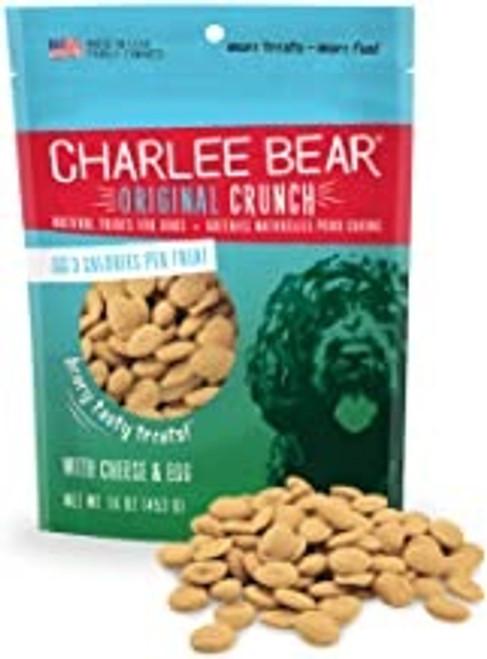 Charlee Bear Original Treat Cheese & Egg, 16oz