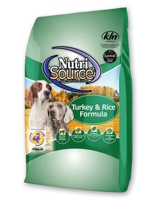 NutriSource Turkey & Rice, 30lb