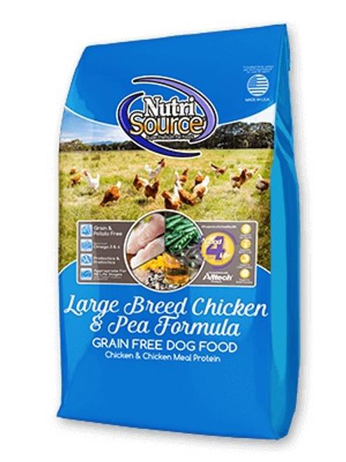 NutriSource Grain Free Large Breed Chicken & Pea