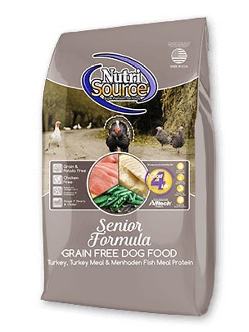 NutriSource Grain Free Senior, 30lb