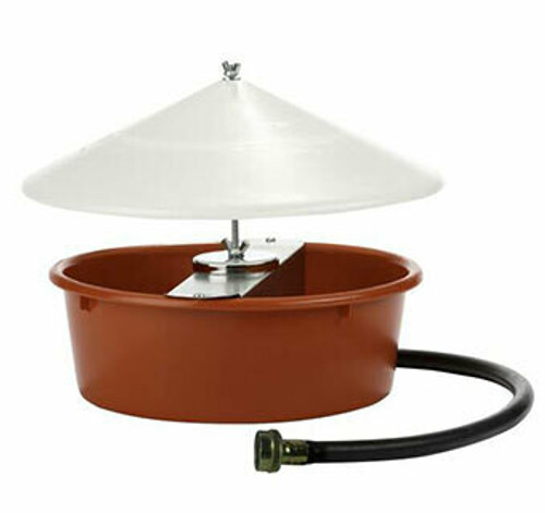 Miller Automatic Poultry Waterer with Cover