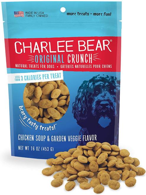 Charlee Bear Original Treat Chicken Soup & Garden Veggie, 16oz
