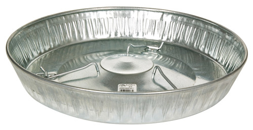 Miller Hanging Poultry Feeder Pan, 17 inch