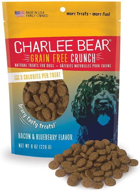 Charlee Bear Bacon & Blueberry Treat, 8oz