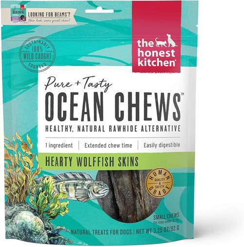 The Honest Kitchen Beams Ocean Chews Wolfish Skins