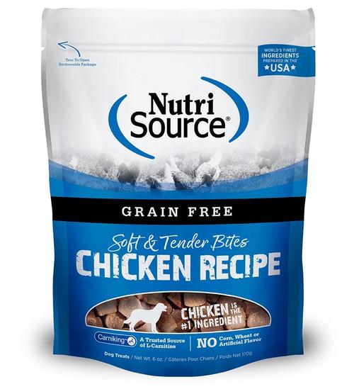 NutriSource Soft & Tender Bites Chicken, 6oz