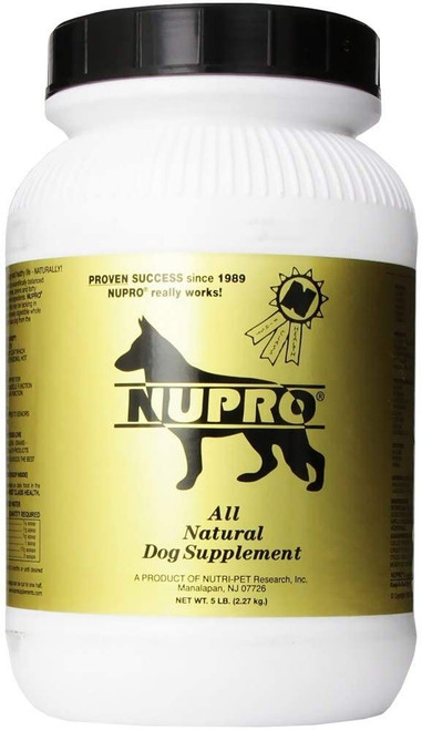 Nupro All Natural Dog Supplement, 5lb
