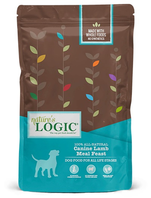 Nature's Logic Canine Lamb Meal Feast