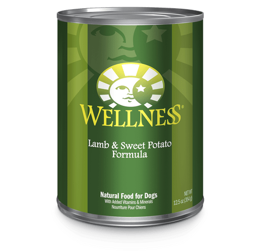 Wellness Dog Lamb & Sweet Potato, 12.5oz
