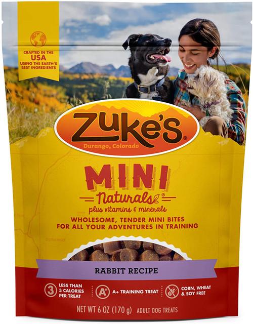 Zuke's Mini Naturals Rabbit Dog Treats