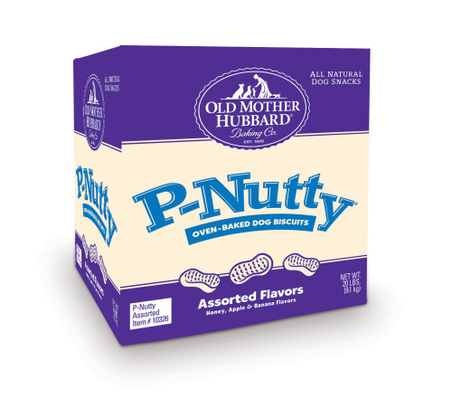 Old Mother Hubbard P-Nutty Biscuits, 20lb