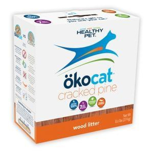 Okocat Natural Wood Litter, 13.6lb
