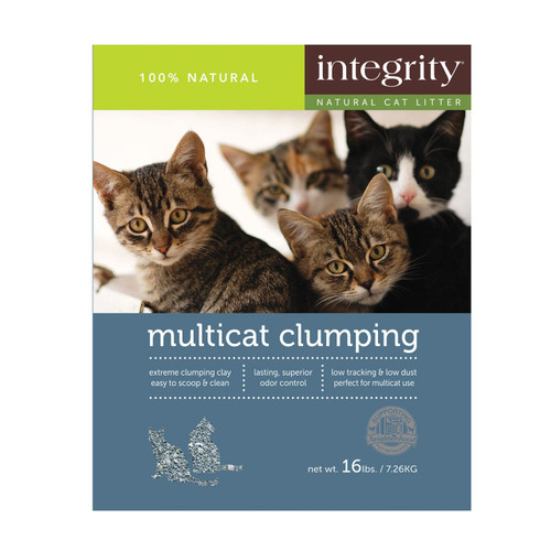 Integrity Multi Cat Clumping Cat Litter, 40#