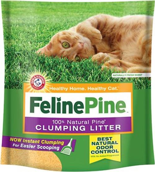 Feline Pine Clumping Litter, 8lb