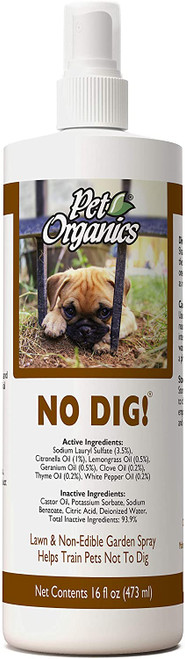 NaturVet Pet Organics No Dig! Lawn Spray, 16oz