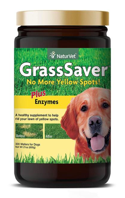NaturVet GrassSaver Wafers, 300ct